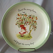 SOLD Holly Hobbie Ceramic Collector Plate