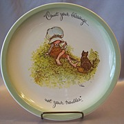 Holly Hobbie Count Your Blessing Collector Plate