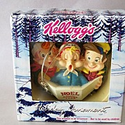 SOLD Kelloggs Holiday Ornament Rice Krispies