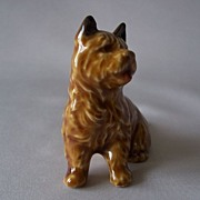 SOLD Cairin Terrier Dog Figurine by Wade - Red Tag Sale Item