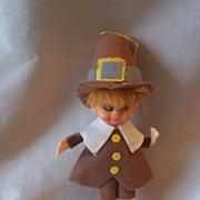 Thanksgiving Decoration  Pilgrim Pixie Boy
