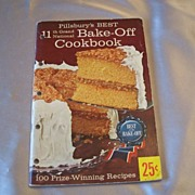 Pillsbury's Best 11th Grand National Bake Off Cookbook