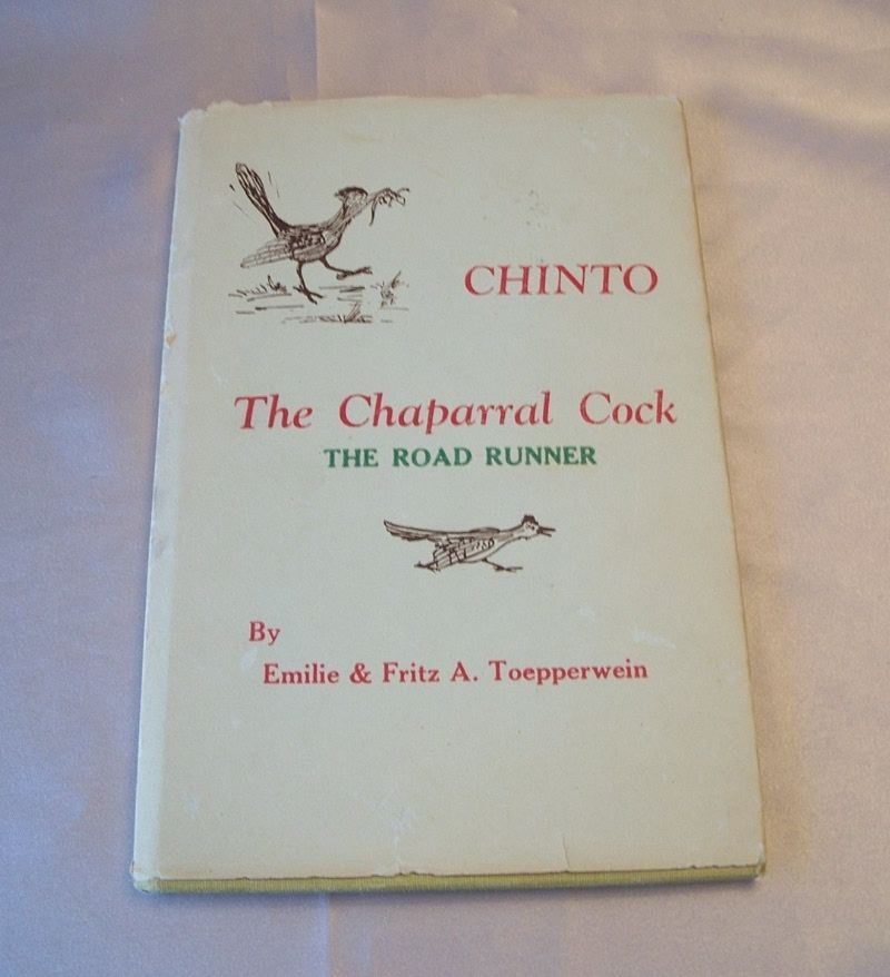 Chinto The Chaparral Cock by Fritz Toepperwein