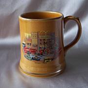 Beautiful Decorated Wade Ireland Mug
