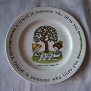 Joan Walsh Anglund Plate Johnson Bros.