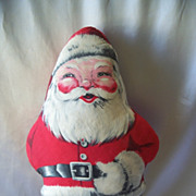 SOLD Vintage Christmas Santa Claus Pillow