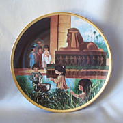 Precious Moments The Baby Moses Collector Plate