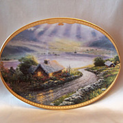 SOLD Thomas Kinkade Scenes of Serenity Emerald Isle Cottage Plate
