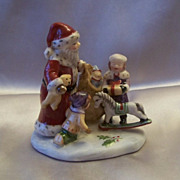 SOLD Villeroy & Boch Christmas Toy's Village Figurine