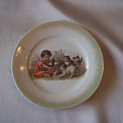 Germany Children's Tea Set Plate with Kittens