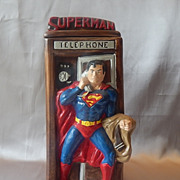 California Originals Superman Cookie Jar
