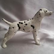 SOLD Wales Dalmatian Ceramic Dog Figurine