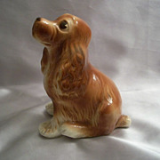 Ceramic Royal Copley Cocker Spaniel Figurine