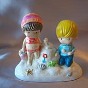 1972 Joan Walsh Anglund Gather Seashell Figurine