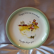 Holly Hobbie Collection Editon Plate