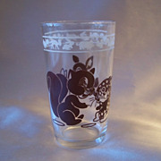 Swanky Swig Child's Glass Squirrel and Deer