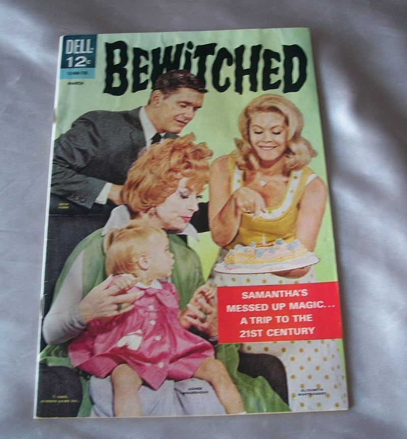 Dell Bewitched Comic Book