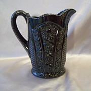Black Indiana Tiara  Glass Monarch Beverage Pitcher