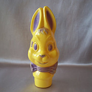 Plastic Easter Bunny Bank