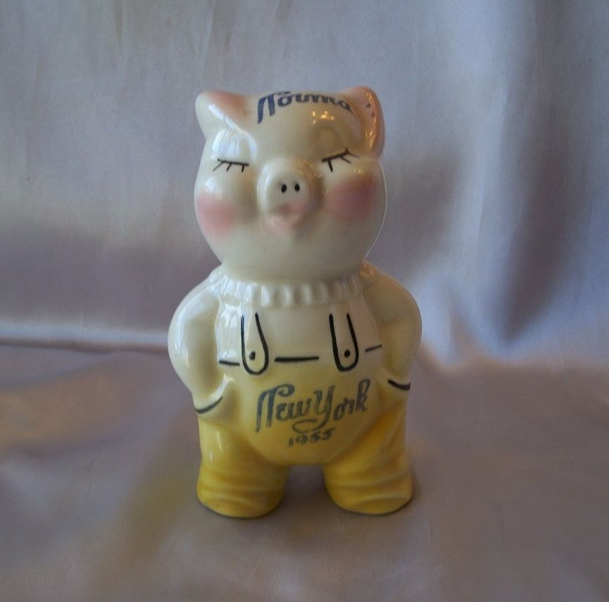 American Pottery Co. 1955 Pig Bank