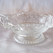 Crystal Two Handled Candy Dish