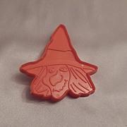 Hallmark Cards Halloween Witch Head Cookie Cutter 1973