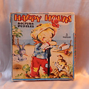 Happy Hours Picture Puzzles 1951