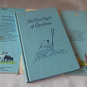 SOLD The First Night Of Christmas A Stardust Book - Red Tag Sale Item