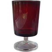 Arcoroc Ruby Red Water Goblet