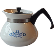 Corning Ware Blue Cornflower 3 Cup Teapot