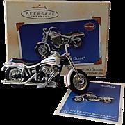 Hallmark Keepsake Ornament Harley Davidson Motorcycle