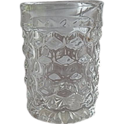 American Fostoria Glass Crystal Tumbler