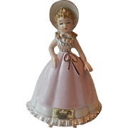 SOLD Little House on the Prairie Shepherdess Figurine
