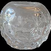 Fostoria American Crystal Rose Bowl Vase