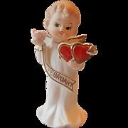 Valentine February Angel Figurine