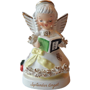 Napco September Birthday Angel Figurine