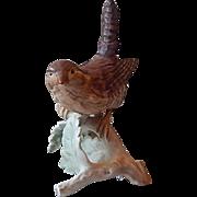Goebel Wren Zaunkonig Roitelet Bird Figurine