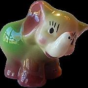 Pottery Elephant Planter