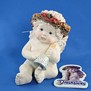 Dreamsicles Club Town Crier Angel Figurine Kristin Haynes