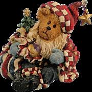 SALE Boyds Nicholas Bearyproud Christmas Bearstone Exclusive