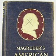 Magruder's American Government, Revised by William A. McClenaghan, Dept. of Political Scienc