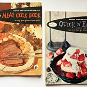 Two Good Housekeeping Pamphlet Cookbooks: Meat Cook Book and Quick 'N' Easy Cook Book, 195