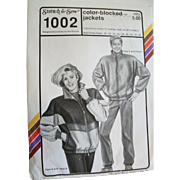 Vintage Stretch & Sew Season-Spanning Unisex Jacket Sewing Pattern Multi-sized