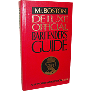 Vintage Old Mr. Boston Bartenders Guide 1978