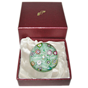 SOLD Vintage Perthshire Paperweight, 1983, PP47