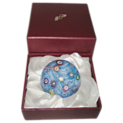 SOLD Vintage Perthshire Paperweight, 1988 PP47