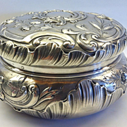 A Wonderful French .950 Silver Bon Bon Box, in the Louis XV Style, CA.1880