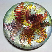 """Vintage """"Camille Faure'"""", Limoges Enamel Dish, Early 20th Century"""