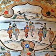 Small Japanese Satsuma Dish, CA.1910