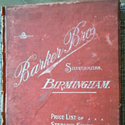 Two Antique Trade Catalogs, Barker Bros, Birmingham &  Ft.Dearborn Watch&Clock Co.